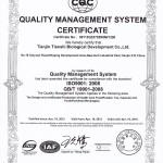 Сертификат 9001 фото