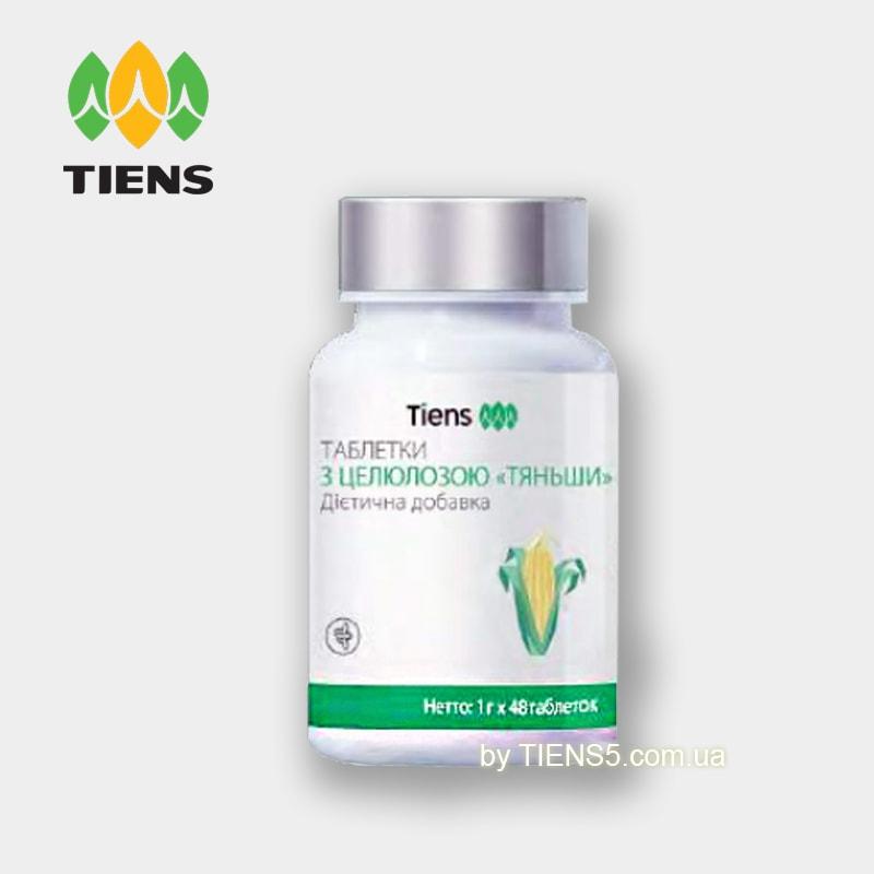 Таблетки с целлюлозой Тяньши (Cellulose Tiens) фото - tiens5.com.ua