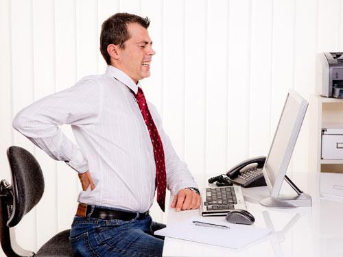 Массажный пояс помогает при болях в спине