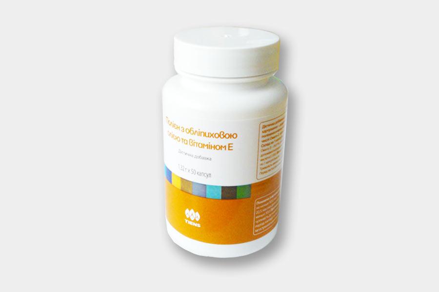 Полиен Тиенс с облепиховым маслом и витамином Е фото