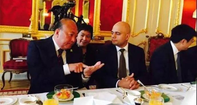 Бранч г-на Ли Цзиньюаня и министра Саджида Джавида фото 0