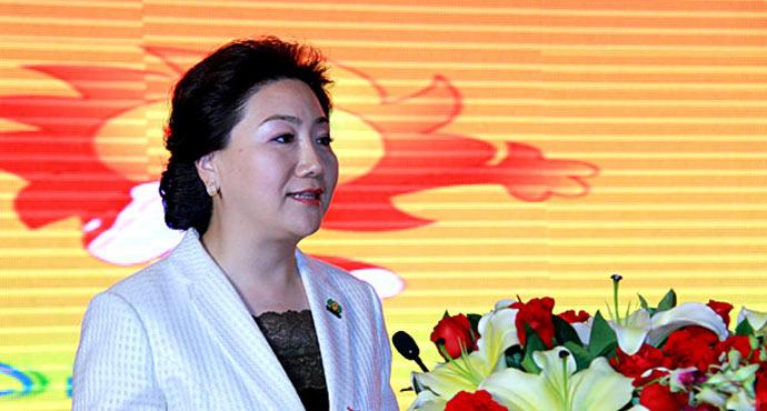 Письмо президента Всемирного департамента бизнеса прямых продаж г-жи Бай Пин (白萍) фото