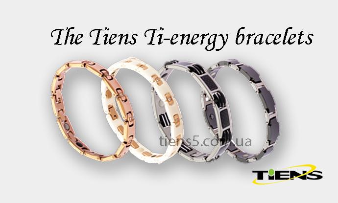 The Tiens Ti-energy bracelet Elegant Black фото