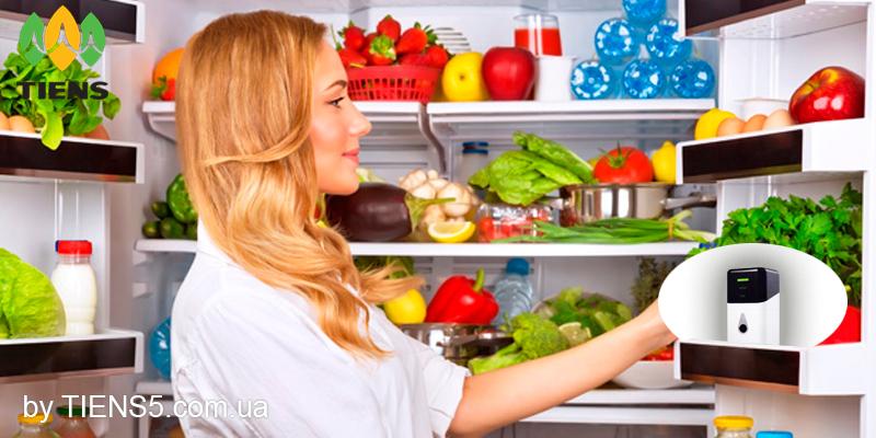 Озонатор легко помещается в холодильнике и не занимает много места фото