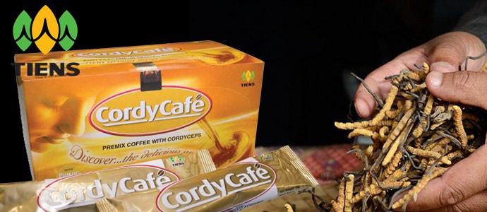 CordyCafe TIENS капучино с кордицепсом Кордикофе фото