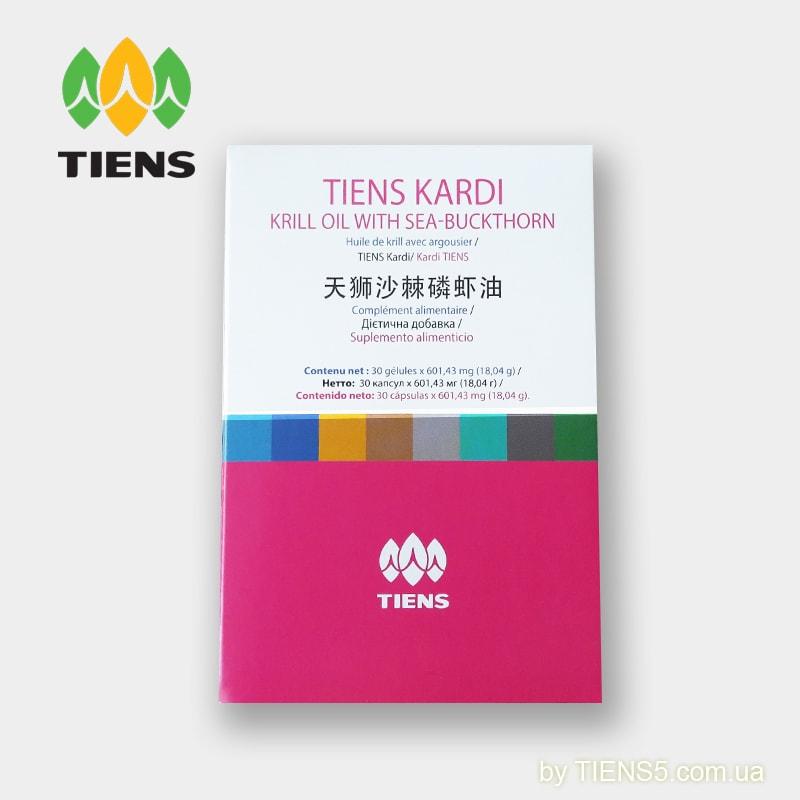 Tiens Kardi Масло криля с облепихой и амарантом Тяньши фото 2
