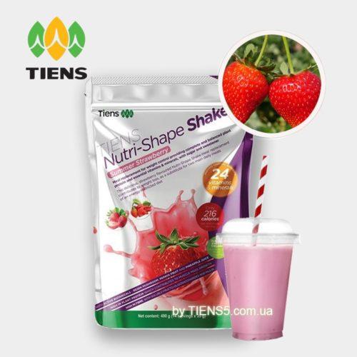 TIENS Nutri-Shape Shake Strawberry коктейль Тяньши клубничный фото