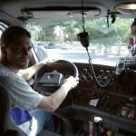 Массажный пояс помогает водителям во время рейсов фото