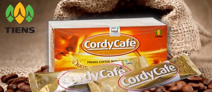 CordyCafe TIENS капучино с кордицепсом фото